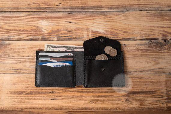 mens gift christmas gift for men card holder groomsmen gift leather wallet leather card wallet slim wallet minimal wallet credit card case