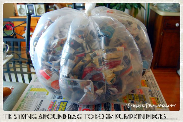 Let's get down to business... so you want to learn how to make a paper mache pumpkin?  You've come to the right place, so let's get started. Here's what you will need to create a paper mache pumpki...