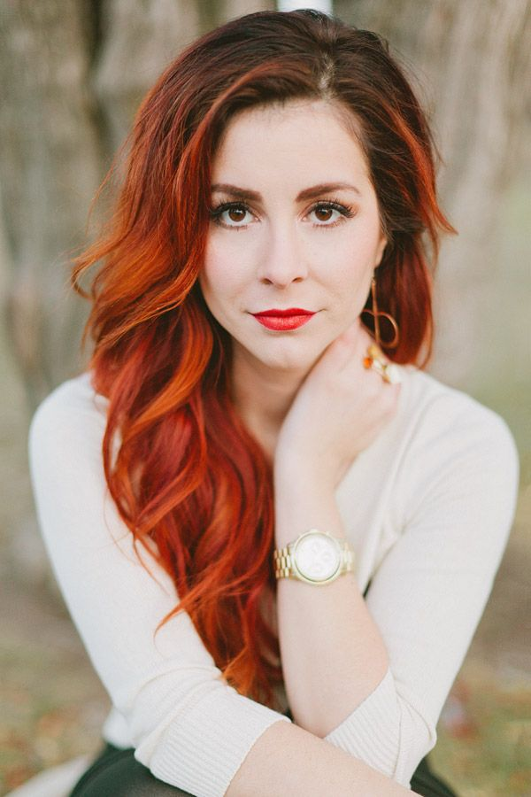 Best 25+ Brown to red ombre ideas on Pinterest | Red ombre, Brown ...