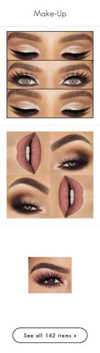 """Make-Up"" by jo-ellehadi ❤ liked on Polyvore featuring beauty products, makeup, eye makeup, eyes, lips, beauty, hair and makeup, nail care, eyebrow makeup and brow makeup"