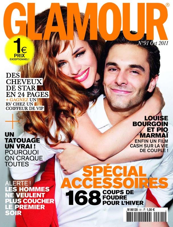n°91, octobre 2011 : Louise Bourgoin et Pio Marmaï