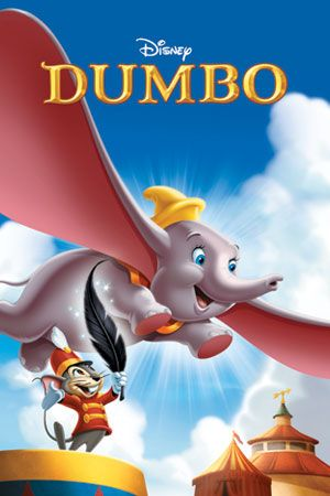Dumbo... Would always watch this while sitting in the living room with my two sons, only cuz it was 1 of 5 kid movies they would watch!
