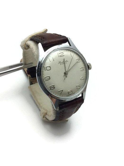 USSR Soviet vintage mechanical mens Wrist Watch Rocket RAKETA Baltika 2609A 21j Fully working! Perfect gift for him!