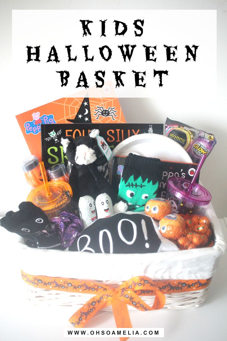 Thinking of doing a Halloween basket for your little ones this year? Check out ours for some inspiration!