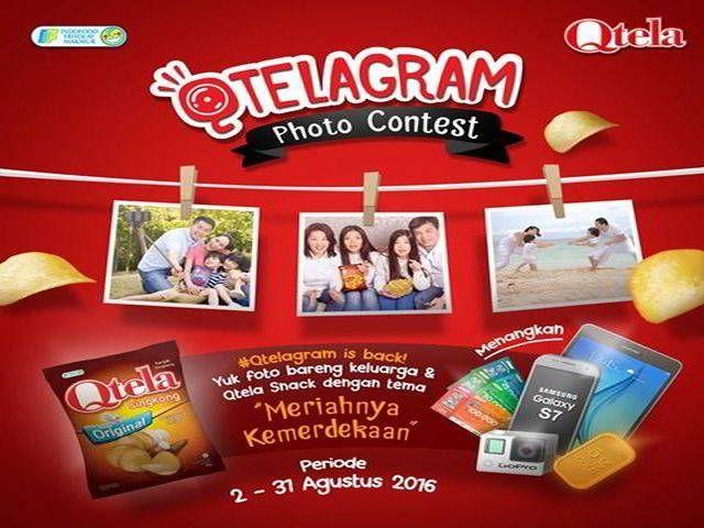 Kontes Foto Qtelagram Berhadiah Samsung Galaxy S7 Edge - Di bulan Agustus ini, ada kontes foto berhadiah senilai puluhan juta rupiah dengan tema