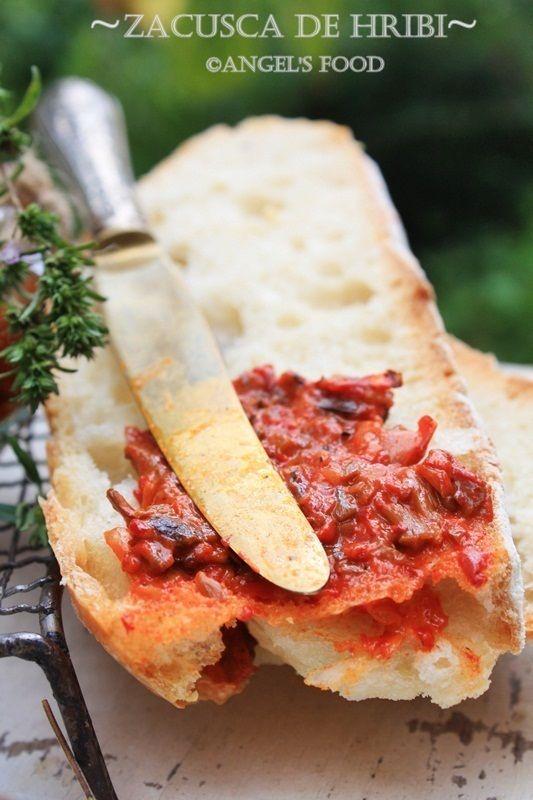 ''Zacusca de hribi'' ~vedeta Standului meu culinar la Electrolux taste Festival III