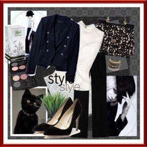 *Black and White elegance*