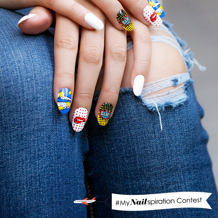 One of the coolest nail designs from our Nailspiration display at Walmart stores… don't you agree? #MyNailspiration #win
