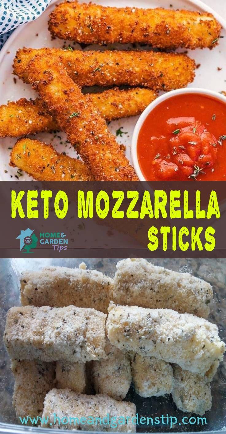 Keto Mozzarella Sticks Are An Easy Kid Friendly Low Carb Snack Or