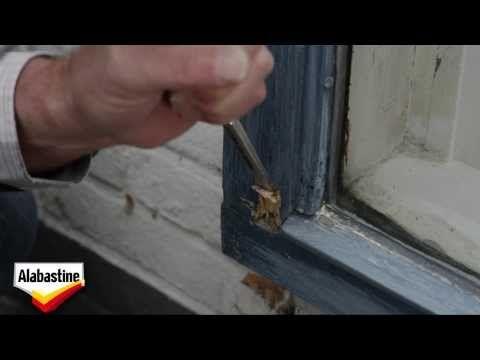 Alabastine - Buitenkozijn repareren - YouTube