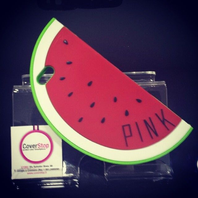 Anguria Melone per iPhone 5/5s #anguria #melone #melonerosso #cocomero #cover