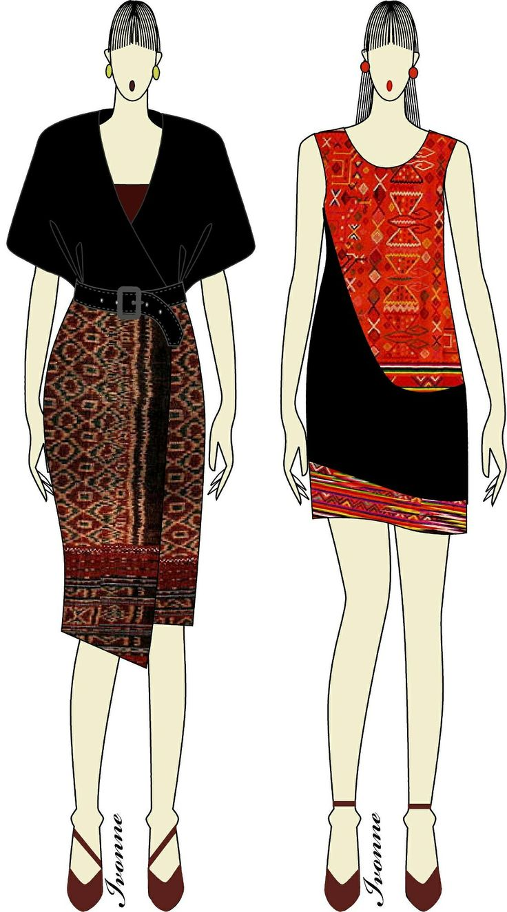 Ikat Weaving dress