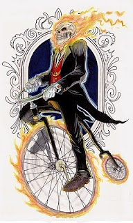Victorian Ghost Rider by Myers