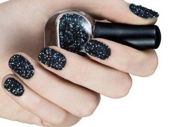 Uñas caviar: lo último en decoración de uñas