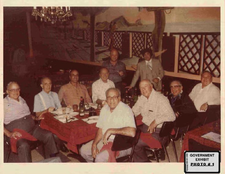 Tony Accardo, Sam Giancanna, Joey the Clown Lombardo, Phil Alderisio, John…