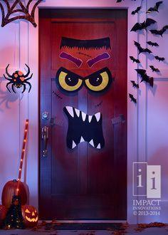 Monster Door on Pinterest www.pinterest.com236 × 330Search by image I designed this Monster Face :) Halloween Monster Door Decor #HalloweenDecor #HalloweenParty #SeasonalDecor