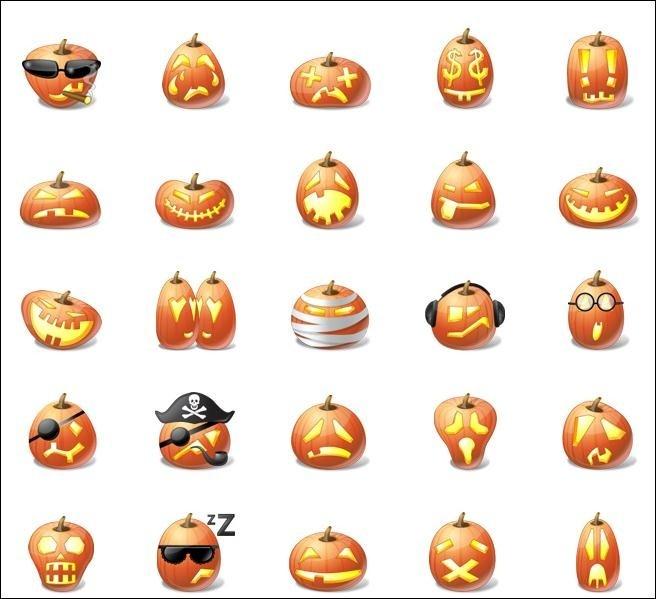 Halloween pumpkin-emotion