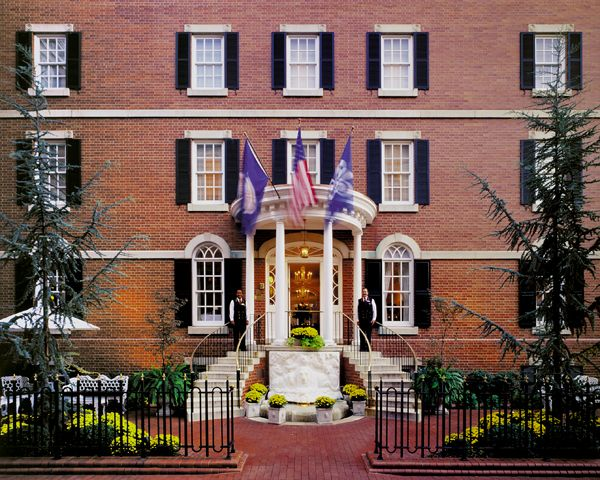Morrison House in Alexandria, VA. Just one of 8 Boutique Hotels & Vintage Stays you must check out! #travel