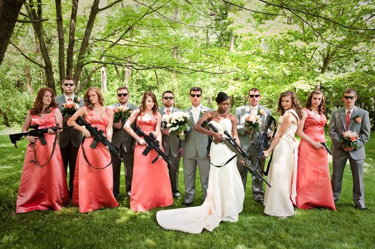 The Theme Was Not Shotgun Wedding When Groom Is In Military However Sometimes You