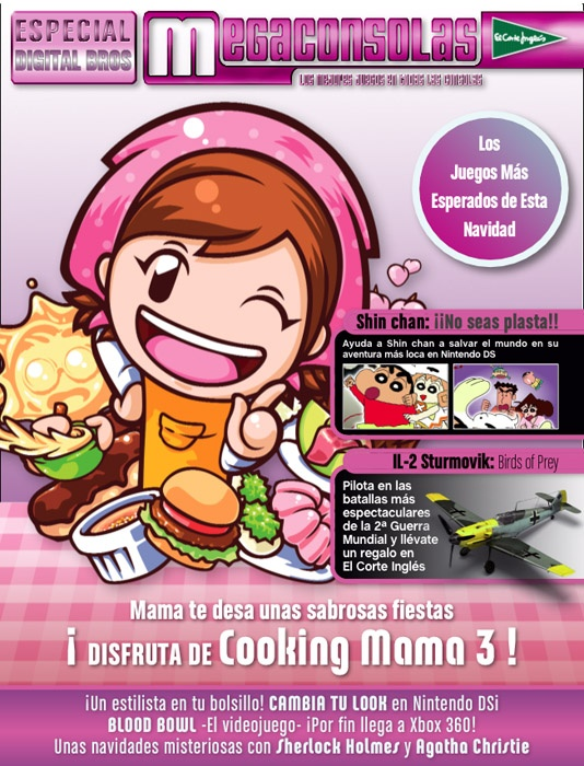 Portada Revista Megaconsolas.  Numero especial compaññia Digital Bros