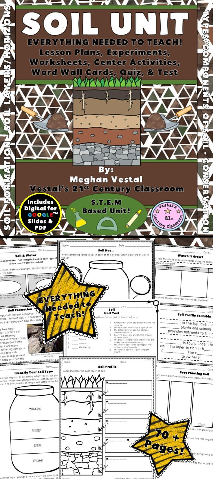 806 best school images on pinterest teaching ideas high school soil is an important natural resource and this unit will provide you with lots of fun fandeluxe