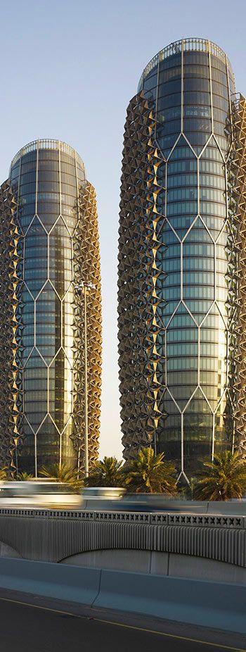 Al Bahr Towers, Abu Dhabi |  United Arab Emirates