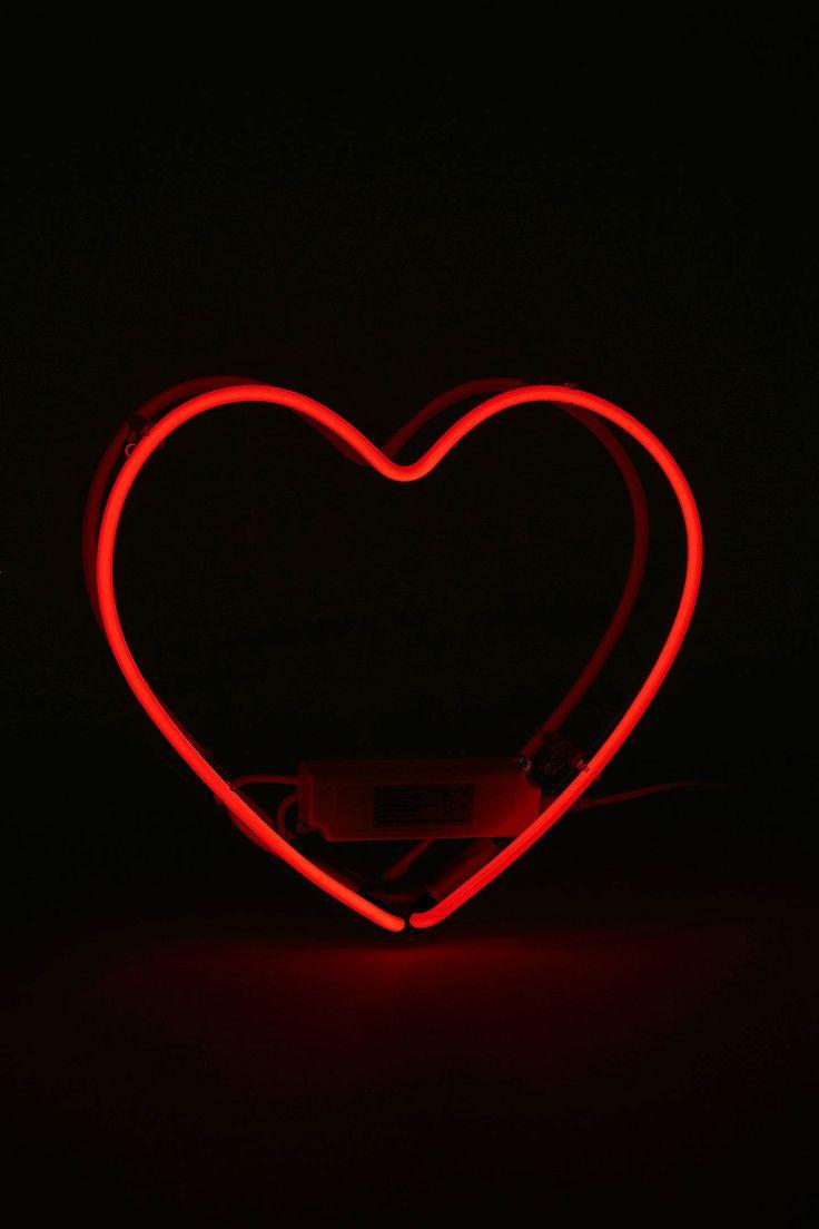 25 bsta Neon heart light iderna p Pinterest