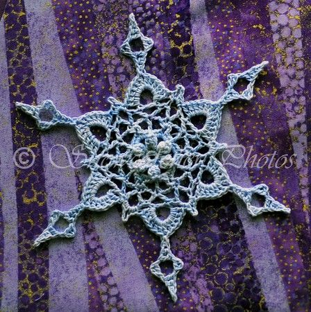 Roseburg Snowflake - Free Crochet Pattern from Snowcatcher.