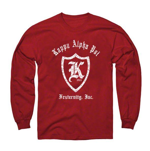 NUPEMALL | Kappa Alpha Psi | Kappa Alpha Psi Long Sleeve K T-Shrt | Online Store Powered by Storenvy