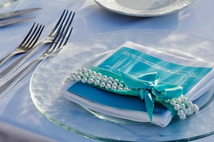 menù tema Tiffany