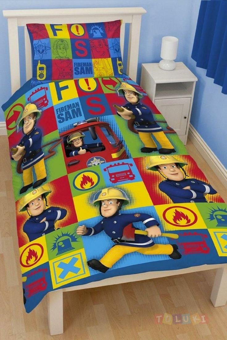 1000 id es propos de chambre de pompier sur pinterest - Chambre garcon pompier ...