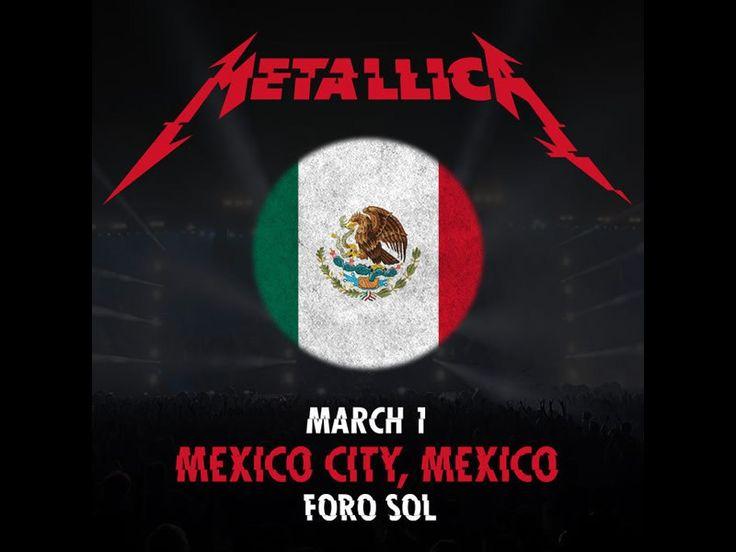 Metallica en México junto con Iggy Pop en 2017 - https://webadictos.com/2016/11/15/metallica-mexico-iggy-pop-2017/?utm_source=PN&utm_medium=Pinterest&utm_campaign=PN%2Bposts