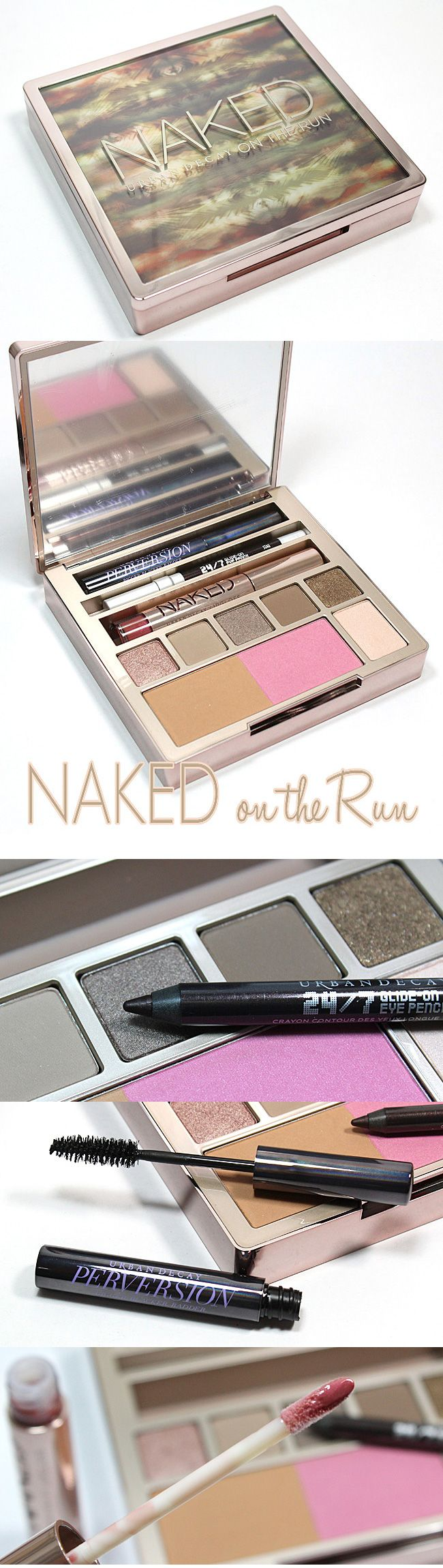 The ultimate portable palette for us NAKED loving #makeup girls: Urban Decay Naked on the Run palette