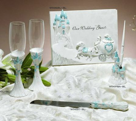 pictures of cinderella weddings silk wedding flowers wedding accessories lt blue cinderella castle