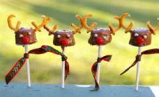 Reindeer Marshmallow Pops Recipe - Chocolate