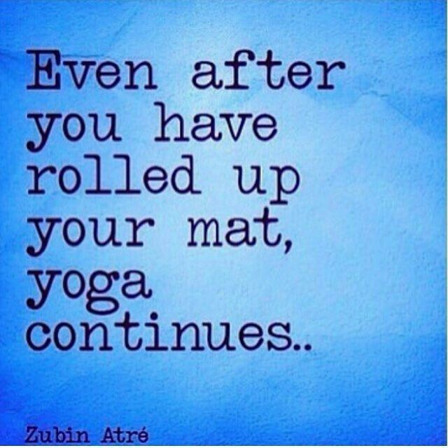 How you live is your yoga ✨                                                                                                                                                                                 More