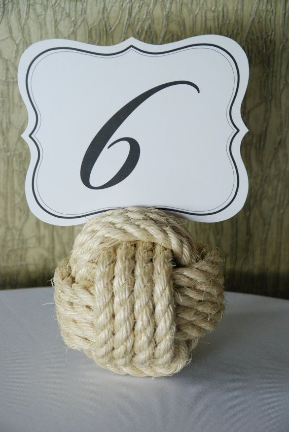Nautical Sisal Rope Monkey Fist Knots per knot by OYKNOT on Etsy, $10.00
