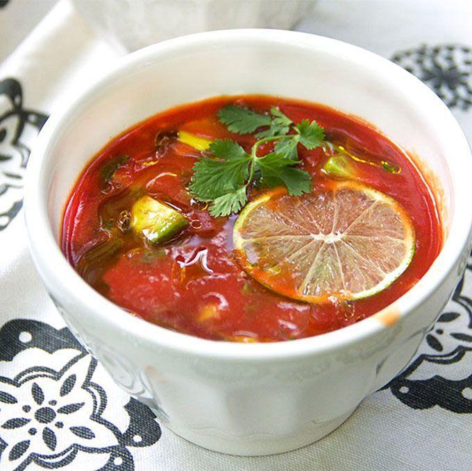 soupe tomate bonne nourriture cuisine italienne soupes chili ragoûts ...