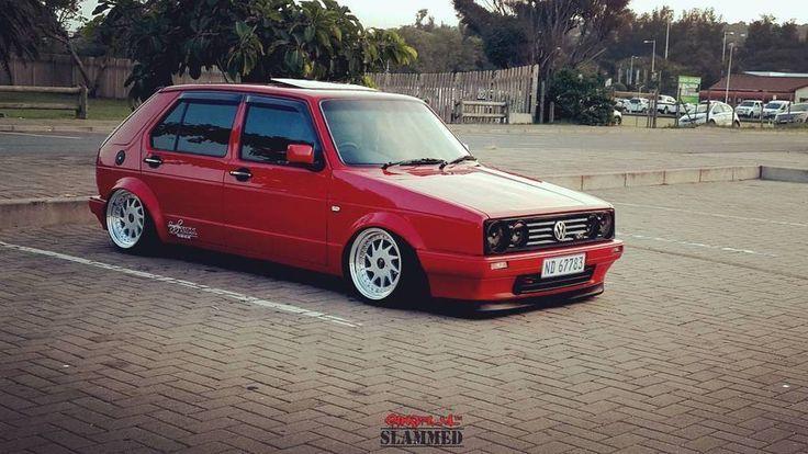 Resultado De Imagem Para Vw Citi Golf Tuning Red Volkswagen Golf Mk2 Car Volkswagen Volkswagen Golf Mk1