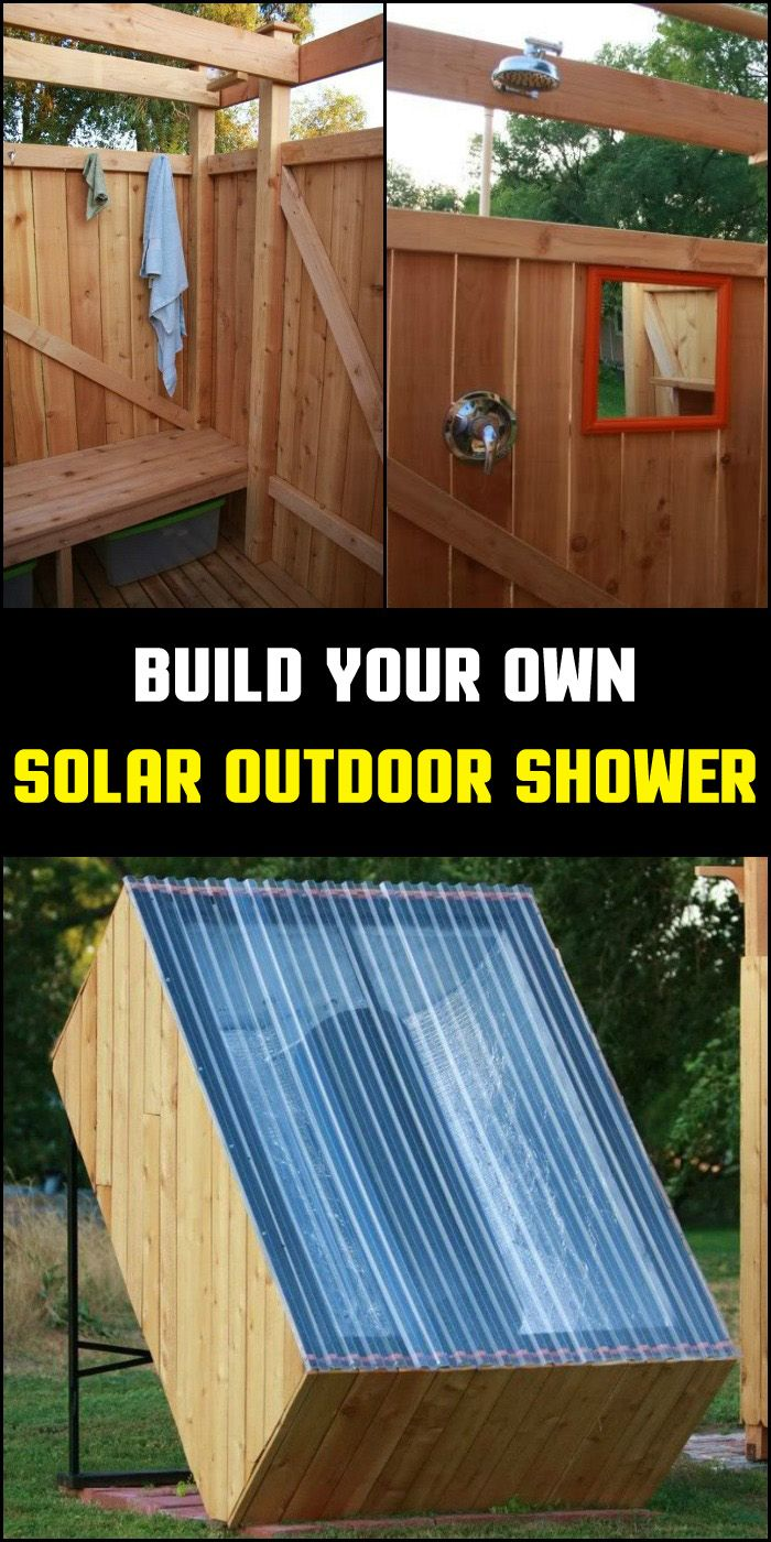 47 best outdoor showers images on pinterest outdoor for Diy outdoor shower surfboard