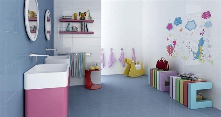 #arredamento #bagno #bambini #design #divertente