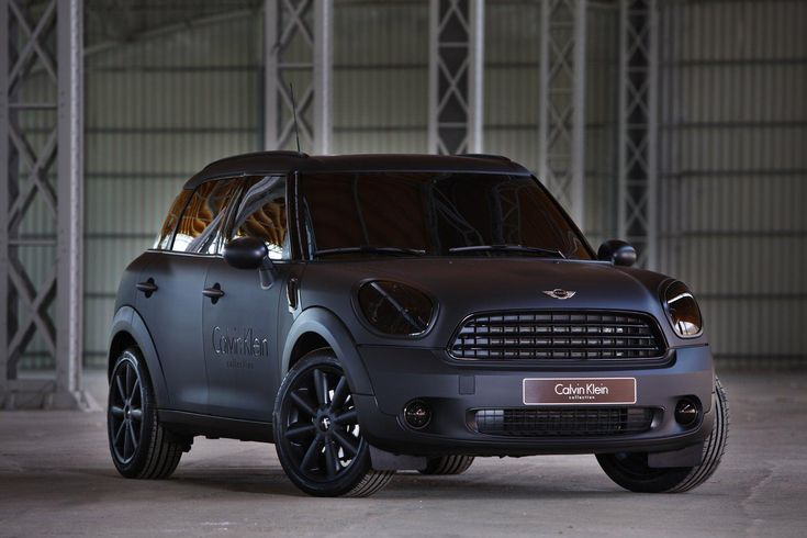 Mini Countryman Tuned Calvin Klein Cars Pinterest