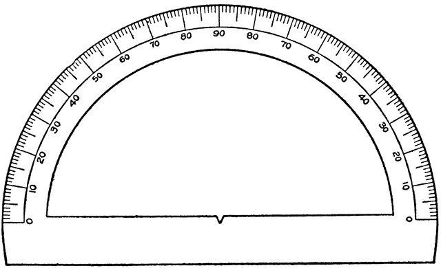 Semicircular Protractor Clipart Etc Protractor Protractor Clipart Clip Art