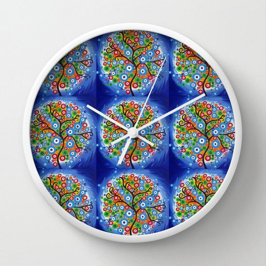 blue clock for bedroom blue clocks for bedrooms blue by SuchFlair