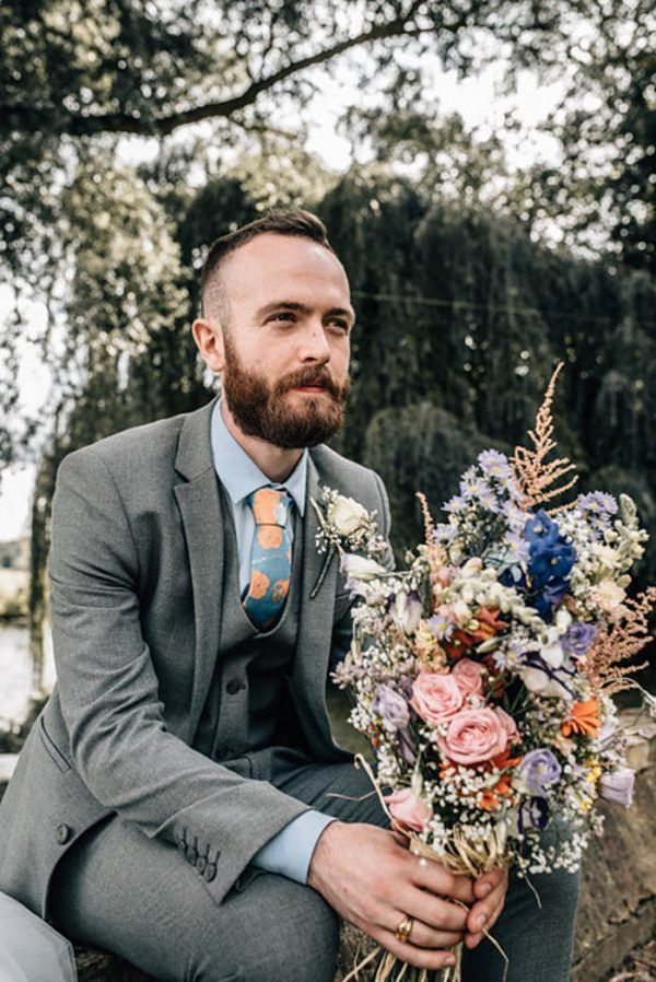 Botanical-inspired style is for the boys too | photo by Daniela K Photography