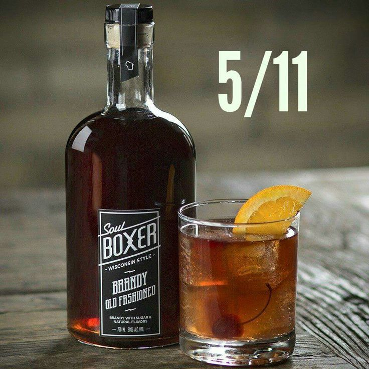 Soulboxer Brandy Old Fashioned