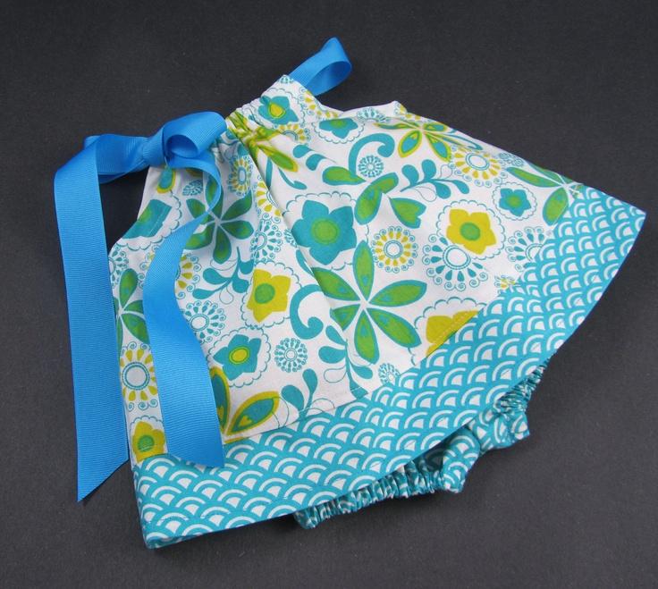 Baby Girls Pillowcase Dress with Bloomers - Spring Flowers - Sizes Newborn 6 Months & 85 best Pillowcase Dresses images on Pinterest | Pillowcase ... pillowsntoast.com