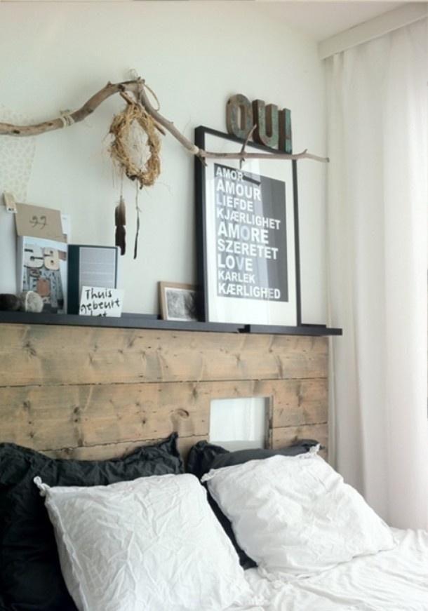 Cabeceros con palets de madera | Decorar tu casa es facilisimo.com