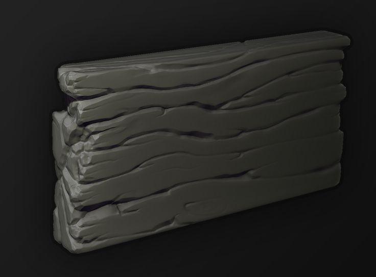 Zbrush workflow practice - Wood by HaMinsu on DeviantArt