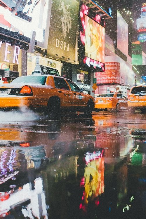 Best New York City Images On Pinterest Places To Visit - Photographer captures the amazing reflections of puddles in new yorks streets